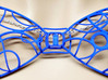 Gallifreyan Space Bow Tie with Police Box 3d printed