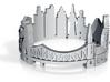 Ring Frankfurt US10,5 3d printed