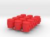 Power Grid Uranium Barrels - Set of 12 3d printed