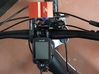 MTB LIGHT SUPPORT compatible with GARMIN support 3d printed