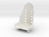 Racing Seat W Rails 1/25 3d printed