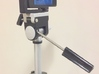 HandleStand for iPhone 3d printed HandleStand with iPhone on Tripod