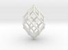 0582 Polar Zonohedron V&E [6] #002 3d printed