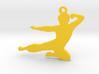 Bruce Lee Keychain 3d printed
