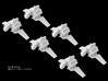 (Armada) 6x Nu Shuttle 3d printed