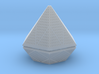 Diamond lampshade 3d printed