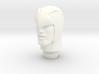 1:9 Scale Blue Falcon Head 3d printed