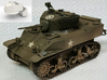 1:16 USA M5A1 Turret & Bustle 3d printed Model contains turret and bustle only - See render