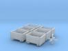 SET 6x Eoskrt 021 Behälter (FLM/MTX) (N 1:160) 3d printed