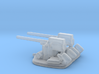 1/288 Scale 3 In 50 Cal Twin Automatic 3d printed