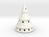 Large Holiday Tree Lumiere 3d printed Snow-covered Tree