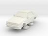 1-64 Ford Escort Mk3 2 Door Cabriolet 3d printed