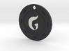 Gomorrah Chip Pendant 3d printed