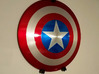 Captain America Shield Wall Mount Components 3d printed