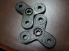 Mini Spinny - Small Hand Triple Spinner 3d printed