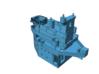 1/350 Lion Class Battleship Upper Superstructure 3d printed