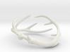 Antler Bracelet Medium/Small (75mm)  3d printed