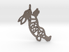 Rabbit Keychain 3d printed
