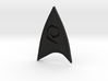 Star Trek Online Operations Combadge 3d printed