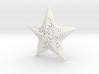 Modern Christmas Star 3d printed