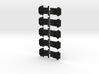 Lionel O Scale Double Door Boxcar Coupler Mount 3d printed