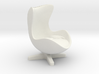 Arne Jacobson Egg Chair Inspired 3d printed
