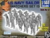 1-144 US Navy Watchers Set15 3d printed