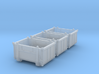 SET 3x Eoskrt 021 Behälter (TT 1:120) 3d printed