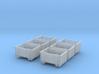 SET 6x Eoskrt 021 Behälter (Tillig) (TT 1:120) 3d printed