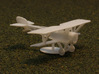 Nieuport 12 (Beardmore) 3d printed with propeller disk as a stand