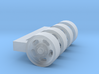 1/87 Ford Truck Mag wheels  X 4 3d printed