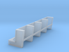 YT1300 DEAGO HALL PILLARS TOP SECTION 3d printed