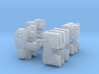 Technobots Head 2-pack 3d printed