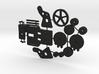 Ankerlier Printonderdelen SWB 3d printed