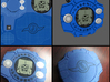 Izzy's Digivice 3d printed Preview of print with Matt's Digivice