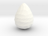 Low Poly Egg 3d printed