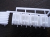 HO Coach Seating (96) 3d printed Out of the Box, Assembly and Cleaning Required