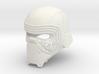 Kylo Ren Helmet (damaged) 3d printed