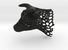 Voronoi Cow's Head 3d printed