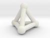 0593 Tetrahedron V&E (a=10mm) #002 3d printed