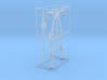 1/48 IJN Davits for 9m Cutter Side Deck Set 3d printed