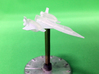 Space Fighter Type-A, 4-Pack 3d printed 3/4 Front printed in FUD