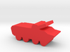 Game Piece, Red Force BTR-80 3d printed