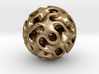 0604 IsoSurface F(x,y,z)=0 Gyroid Ball (d=5cm) #1 3d printed