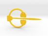 Viking Ring Needle 1 L 3d printed
