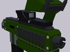 28mm X-1 Compact Assault Rifle (10 Pack) 3d printed Front Render with Optional Motion Sensor and Holographic Sight