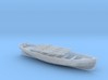 1/72 IJN 9m Cutter w. Paddles 3d printed
