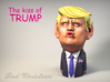 The Kiss Of TRUMP 3d printed