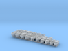 1/700 WW2 RN Boat Set 3 with Mounts 3d printed 1/700 WW2 RN Boat Set 3 with Mounts