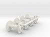 7mm Oleo Wagon Buffer set X4 3d printed